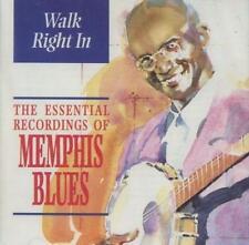 Memphis Blues(CD Album)Walk Right In-Indigo-IGOCD2038-UK-1996-New