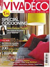 Vivadeco. nº 42. nov 2013. heat pump/nesting/table reveillon/chemi