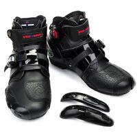 Pro-Biker Motocicleta Botas Moto Racing Bicicleta Deportes Zapatos Negro 41-46
