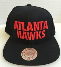 ATLANTA HAWKS NBA Mitchell and Ness Snapback Hat Cap