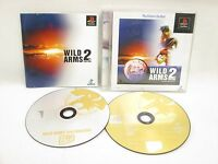 WILD ARMS 2nd IGNITION The BEST Item Ref/ccc PS1 Playstation PS Japan Game p1