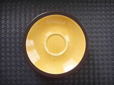 Lot of 6 Mikasa TERRA STONE Saffron E1357 Saucers Cup Plate Replacement Japan