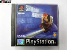 SHADOW MADNESS Rpg Sony Playstation One Psx Ps1 Pal Crave Usato Come Nuovo
