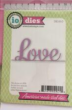 Impression Obsession Dies 'Love' (DIE130-D) Valentines Day Wedding Birth - 1 Die