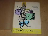 [Pub Medical Arts Graphics] Gouache Original! Guy Barbot/Hexacycline 1960