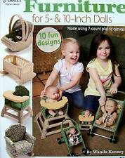 "Plastic Canvas Furniture For 5"" & 10"" Dolls  Pattern Book  Annie's"