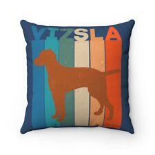 Vizsla Retro Spun Polyester Square Pillow