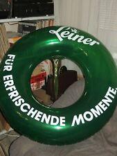 Grün transparenter Schwimmring von LEINER inflatable Toy 90cm