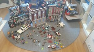 Playmobil ghostbusters feuerwache Auto etc