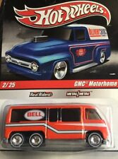 New 2010 Hot Wheels Slick Rides #02/34 GMC Motorhome orange Bell Real Riders RRs