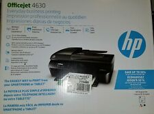 New HP Officejet 4630 Wireless Color All-In-One Inkjet Printer Fax Scan Copy AIO