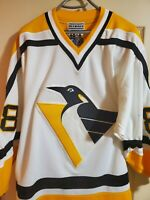 RARE! Starter Center Ice Pittsburgh Penguins Retro Robopen Authentic Home Jersey