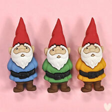Dress it Up Buttons Garden Gnomes 7696 - Toadstools Fairies Fairy Gnomes