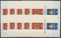 Deutschland (BRD), MiNr. Block 9, 10 Blöcke, postfrisch / MNH - 602841