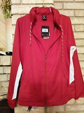 New Nike Alabama Crimson Tide Dry Full-Zip Jacket Women's Medium Red 923217 $85