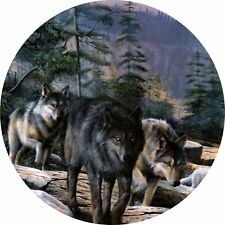 4x4 Spare Wheel Cover 4 x 4 Camper Camper Graphic Vinyl Sticker Wolves 99