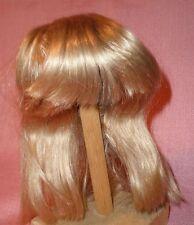 "Peluca de muñeca/12"" a 12.5"" de cabello humano Rubio chinleng/echthaarper. bl. 30/32 halblang"