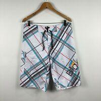 Billabong Mens Board Shorts Size 34 Swim Shorts Multicoloured Drawstring