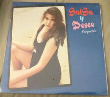 LP SALSA / SALSA Y DESEO ORQUESTA / DESNUDA / SELLO PDC-40 / SEALED