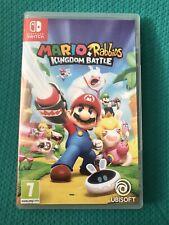 Mario + Rabbids Reino juego batalla Nintendo Switch