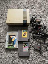 Nintendo NES Konsole 2 Controller 3 Spiele