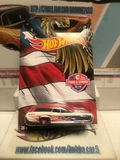 "2016 HOT WHEELS STARS AND STRIPES ""71 PLYMOUTH SATELLITE"""