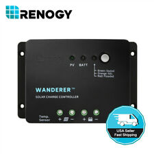 Renogy 30A PWM Solar Charge Controller Negative Ground 12V Battery Regulator PV