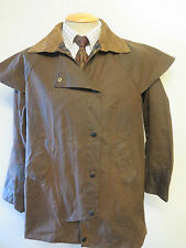 "Barbour  Backhouse Stockman Waxed 3/4 jacket - 36"" Euro 46 or UK 12  in brown"