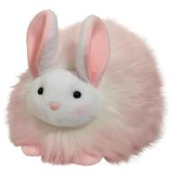Plush LARGE PINK PUFF BUNNY Rabbit Stuffed Animal - Douglas Cuddle Toys #14861