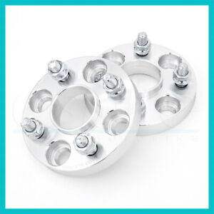 2 Hub Centric Wheel Spacers Adaptor 15mm 5x114.3 4.5 60.1 | 60mm fit 12x1.5