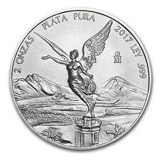 2017 Mexico 2 oz Silver Libertad BU - SKU #150004