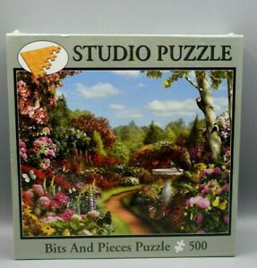 "Bits & Pieces Studio Jigsaw Puzzle Alan Giana ""Butterfly Garden"" 500 pc SEALED"