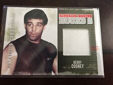Gerry Cooney 2011 Ringside Boxing Round 2 Memorabilia Silver AM-48 Swatch Trunks