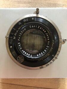 Carl zeiss jena Tessar 135mm F4.5 Lens With Compur Shutter