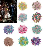30g Round Tissue Paper Throwing Confetti Party Balloon Confetti Wedding Decor