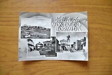 CARTOLINA SALUTI DA MONTALDO BORMIDA MUNICIPIO VIAGGIATA 1956 SUBALPINA DD