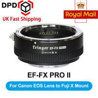 Fringer EF-FX2 Pro II Auto Focus Lens Adapter fr Canon EOS Sigma Lens to Fuji FX