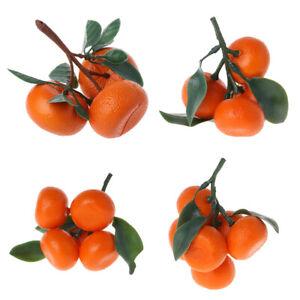 Artificial Orange Realistic Fake Fruit Retail Display Prop