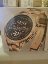 Pista de acceso Michael Kors Reloj inteligente 41mm Acero Inoxidable-Oro Rosa