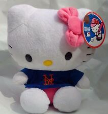 MLB SANRIO HELLO KITTY NEW YORK METS EIGHT INCH