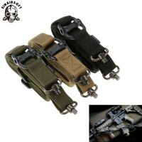 "Tactical Quick Detach QD 1 Or 2 Point Multi Mission 1.2"" Rifle Gun Sling Adjust"