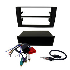 Radio Replacement Dash Mount Kit 2-DIN w/Pocket/Harness/Antenna for Audi/A4/S4