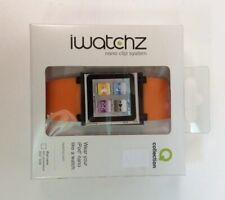 iWatchz Nano Clip System - Orange - iPod Nano 6th Gen 8GB 16GB