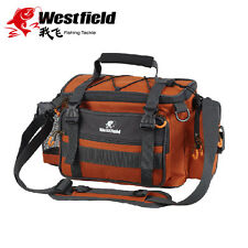 Westfield Fishing Tackle Bag - EVA Handle + Shoulder Strap - Fits 3 Lure Boxes