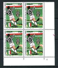 1995 - LOTTO/REP2204Q - REPUBBLICA - SCUDETTO JUVENTUS - QUARTINA