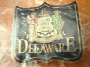Vintage Enamel Delaware Liberty and Independence Lapel Pin