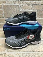 Asics Men's Running Shoes GT-2000 6 (2E) Size 8.5 - Stone Grey/Black/White