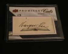 2009 Prominent Cuts Harper Lee Auto Autograph 1/3 To Kill A Mockingbird Author