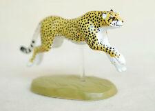 RARE Japan Colorata Cheetah Cheetahs Running Animal PVC Figure Figurine