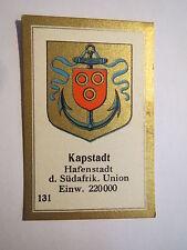 Kapstadt / Sammelbild Abdulla Wappen